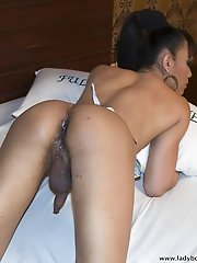 Creampie for slutty and horny Pattaya Ladyboy Lydia