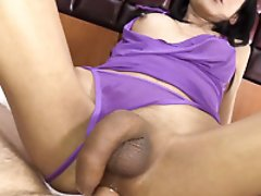 Purple Dress Tight Hot Sex